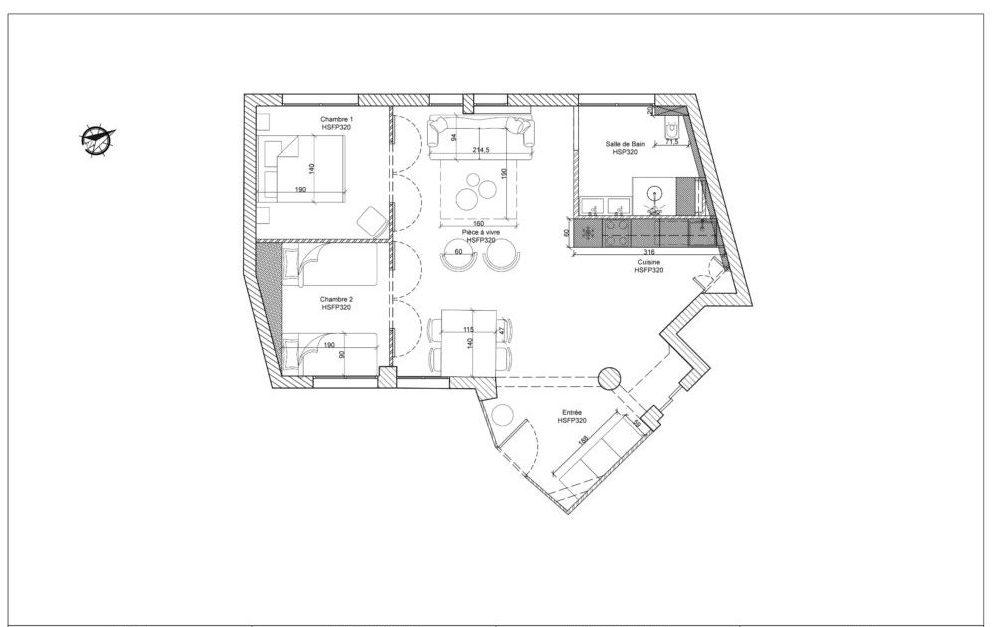 1B Plan agencement meublé côté page 8-1